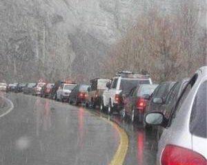 افزایش تردد در جاده های کشور