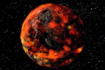 اقیانوس مواد مذاب بر سطح ماه!