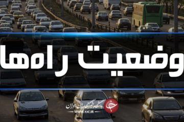 آخرین وضعیت جوی و ترافیکی جادههای کشور در ۳ مرداد ماه