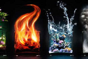 آب، خاک، چوب، آتش یا فلز؟ عنصر وجودی تان را پیدا کنید