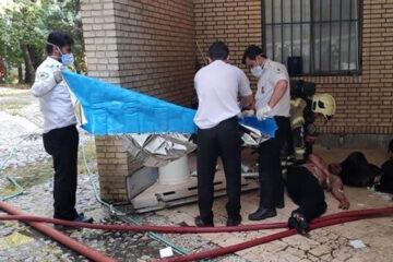 جزئیات آتشسوزی مرگبار در اردوگاه باهنر تهران