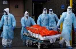 ایران دومین رتبه فوتیهای کرونایی در جهان