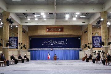 آغاز جلسه شورایعالی هماهنگی اقتصادی در حضور رهبر انقلاب
