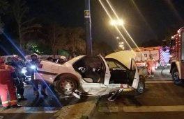 ۴۰ درصد تصادفات پایتخت به عابران پیاده مربوط میشود