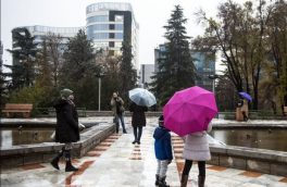 تداوم بارشها تا آخر هفته در ۸ استان کشور