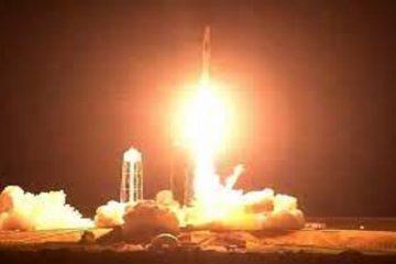 لحظه ورود فضانوردان ناسا به ایستگاه فضایی