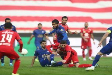 پرسپولیس یک – استقلال صفر/ آسمان لیگ ایران سرخ شد