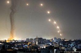 حملات موشکی مقاومت به شهرکهای صهیونیستی اطراف غزه/ زخمی شدن بیش از ۱۳۰۰ فلسطینی
