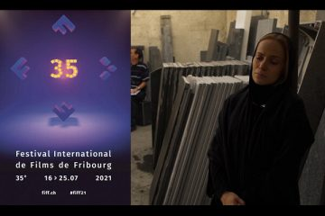 دریافت لوح سپاس برای «ناهید» از جشنواره فرایبورگ
