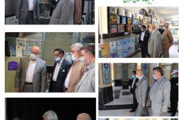 سرپرست کانون های خدمت رضوی استان تهران از دفترکانون خدمت رضوی شهرستان پیشوا بازدید کرد