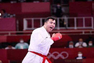 مشارکت قهرمان کاراته المپیک در آزادی ۳ زندانی