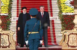 استقبال رسمی امامعلی رحمان از رئیسی