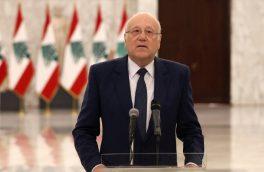 نخست وزیر لبنان خواستار برقراری بهترین روابط با کشورهای عربی شد