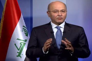 برهم صالح: باید به روند قانون اساسی و اراده مردم احترام گذاشت